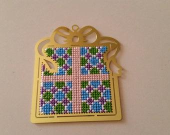 Brass Present Cross Stitch