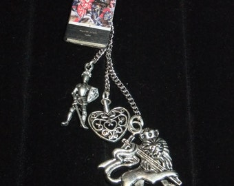 Ivanhoe Book Keychain - Great Gift for Book Lovers!