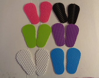 2mm Textured Foam  Doll Shoe Soles  for 18 inch dolls- such as the American Girl Dolls