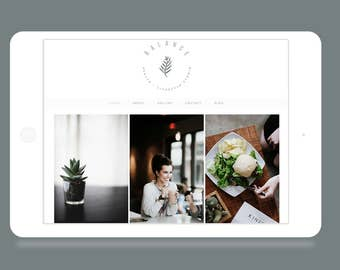 Wordpress Theme Balance - Responsive Wordpress Theme