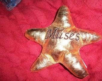 Muses Gold Star Plush