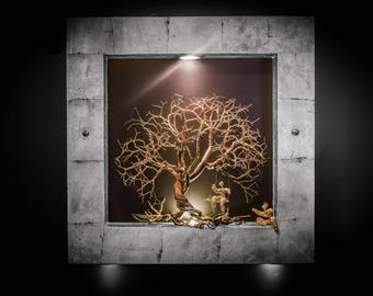 """DREAM Collection """"Tree Dream"""" Ceiling or Wall Light"""