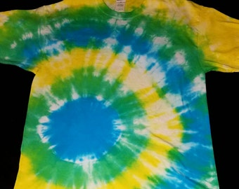Side Bullseye Tie Dye T-Shirt