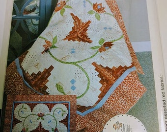 "Cabin Fever Quilt Pattern by Jillily Studio - 54"" x 54"" quilt"