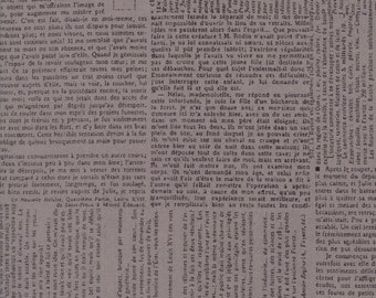 Compositions Stone Newsprint Yardage SKU# 30451-19 Compositions by BasicGrey for Moda Fabrics