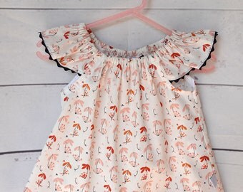 Baby girl/toddler flutter sleeve top size 1
