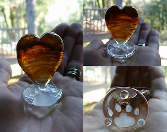 Pet Cremains Heart or Pendant