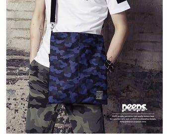 Camouflage Bag Camo Messenger Bag Cross Bag Crossbody College Bag School Bag 196