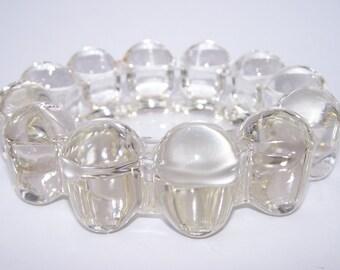 Retro Boopie Glass Ashtray Circa 1970s