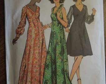 Simplicity 5432, size 14 1/2, misses, womens, dress, UNCUT sewing pattern, craft supplies, vintage