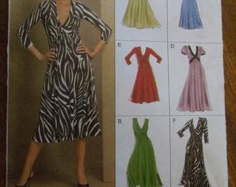 Vogue 8489, sizes varies,dress, UNCUT sewing pattern, craft supplies