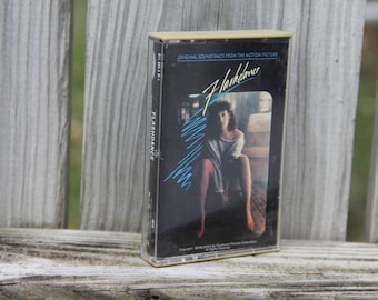 Flashdance Original Soundtrack Vintage Cassette Tape