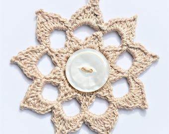 Bohemian Crochet Necklace
