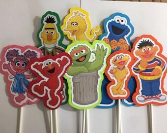 x8 Sesame Street Inspired Centerpieces