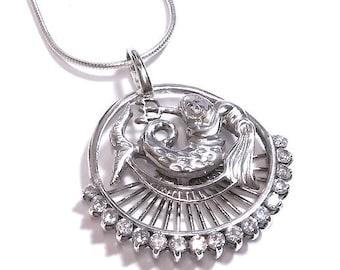 Neptun - Aquarius silver 925 pendant