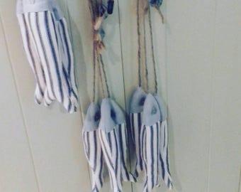 Hanging fabric Sardines!