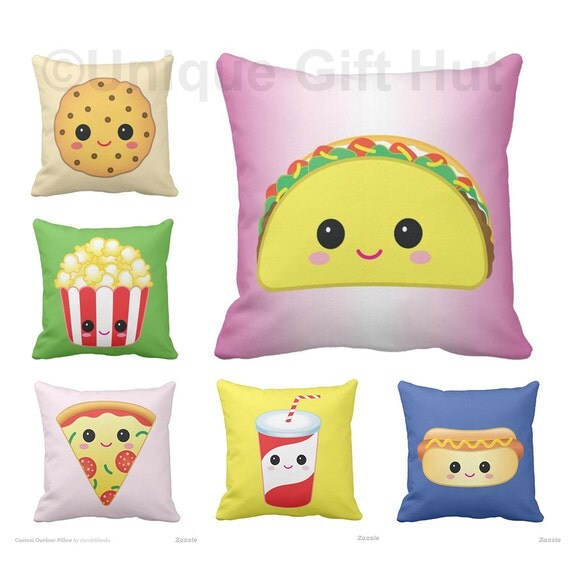 Cute Food Pillow : Food Pillow-Cute Throw Pillow series 2-Home Decor-Kawaii Decorative throw Pillow & Pillow Cover ...