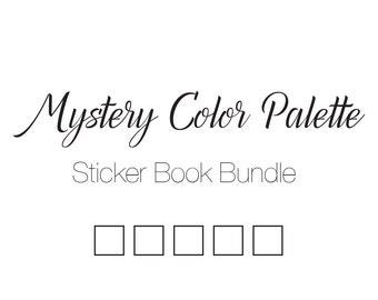 Sketch Sticker Book PRINTABLE Sticker Bundle -Instant Download, printable planner stickers