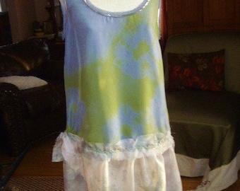 Silk Dress, Tunic top
