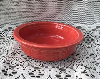 Fiestaware Paprika Vegetable Serving Bowl