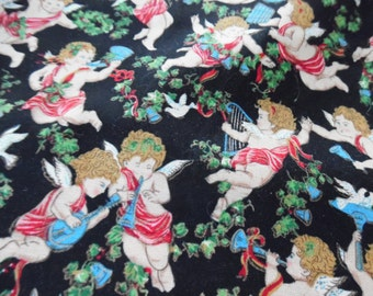 Cupid Fabric / Sewing / Fabric / Quilting / Valentine / Valentine Fabric