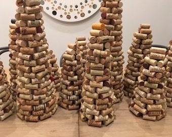 Handmade Wine Cork Tree - Large