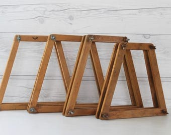 Vintage Wooden Tennis Racket Presses - Lot of 4, Vintage, Vintage Wood Tennis Racket Holder/Case