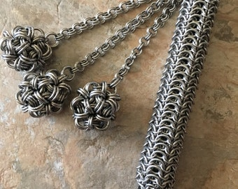 Chain Mail Flail (For Consensual Kink Play)