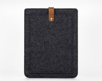iPad Pocket Case - iPad Air 2 Cover - Felt Case iPad - iPad Air Case - iPad Air Cover