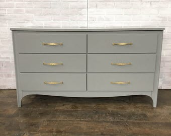 AVAILABLE: Grey Painted Dresser