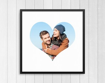 Personalized Photo Gift, Gift for Him, Gift for Her, Valentine's Day Present, Custom Photo Gift, Gift for Wife or Husband, Gift for Spouse