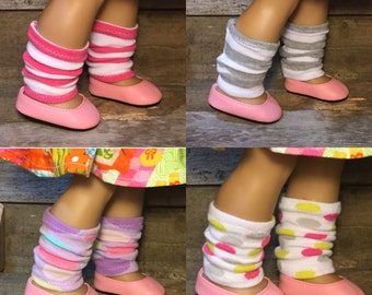 Leg Warmers, for 18 inch Doll *Only 1 of each*