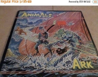 Save 30% Today Vintage 1983 LP Record The Animals Ark IRS Records SP-70037 Very Good Condition