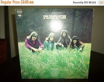 Save 30% Today Vintage 1971 LP Record Ten Years After A Space in Time Very Good Condition 7197
