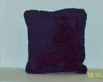 NAVY BLUE PLUSH Pillow