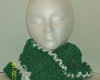 St. Patrick's Day ~ Emerald Green Neck Warmer! ~ Jacksonville Jaquars!