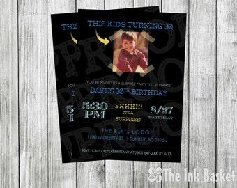 Surprise Birthday Party - Shhhh!