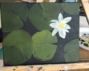 Lilypads on Western Lake