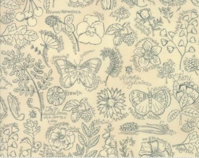 Garden Notes - Garden Journal Multi 609019 - 1/2yd