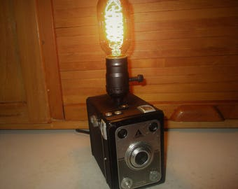 Repurposed Tower Box Camera/Light