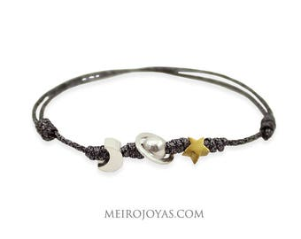 Stellar Sterling Silver Bracelet/ Pulsera Estelar plata 925