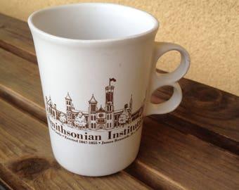 Smithsonian mug, Castle James  Mug, James Renwik Mug, Smithsonian  Cup, Trigger Mug, Bennington Potters Mug, Smithsonian Museum Mug