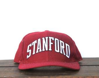 Rare Vintage Starter Arch Stanford University California Snapback Hat Baseball Cap