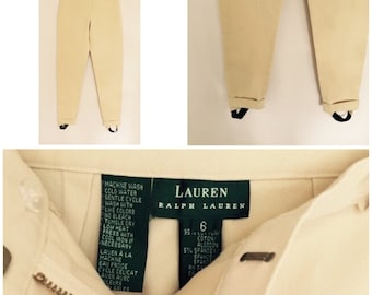 RALPH LAUREN High-Rise Equestrian Riding Pants