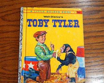 A Little Golden Book, Walt Disney's TOBY TYLER, 1960