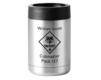 Cub Scout Leader or Member Stainless Drink Cooler