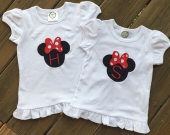 Minnie Mouse Applique shirt