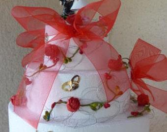 Wedding cake - money gift - table decoration - decoration