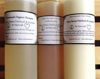 Organic Shampoo and Conditioner Homemade Shampoo Conditioner With Vinegar Rinse