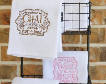 MOTHER'S DAY GIFT!  Tea Towels, Set of 4 Flour Sack Towels,